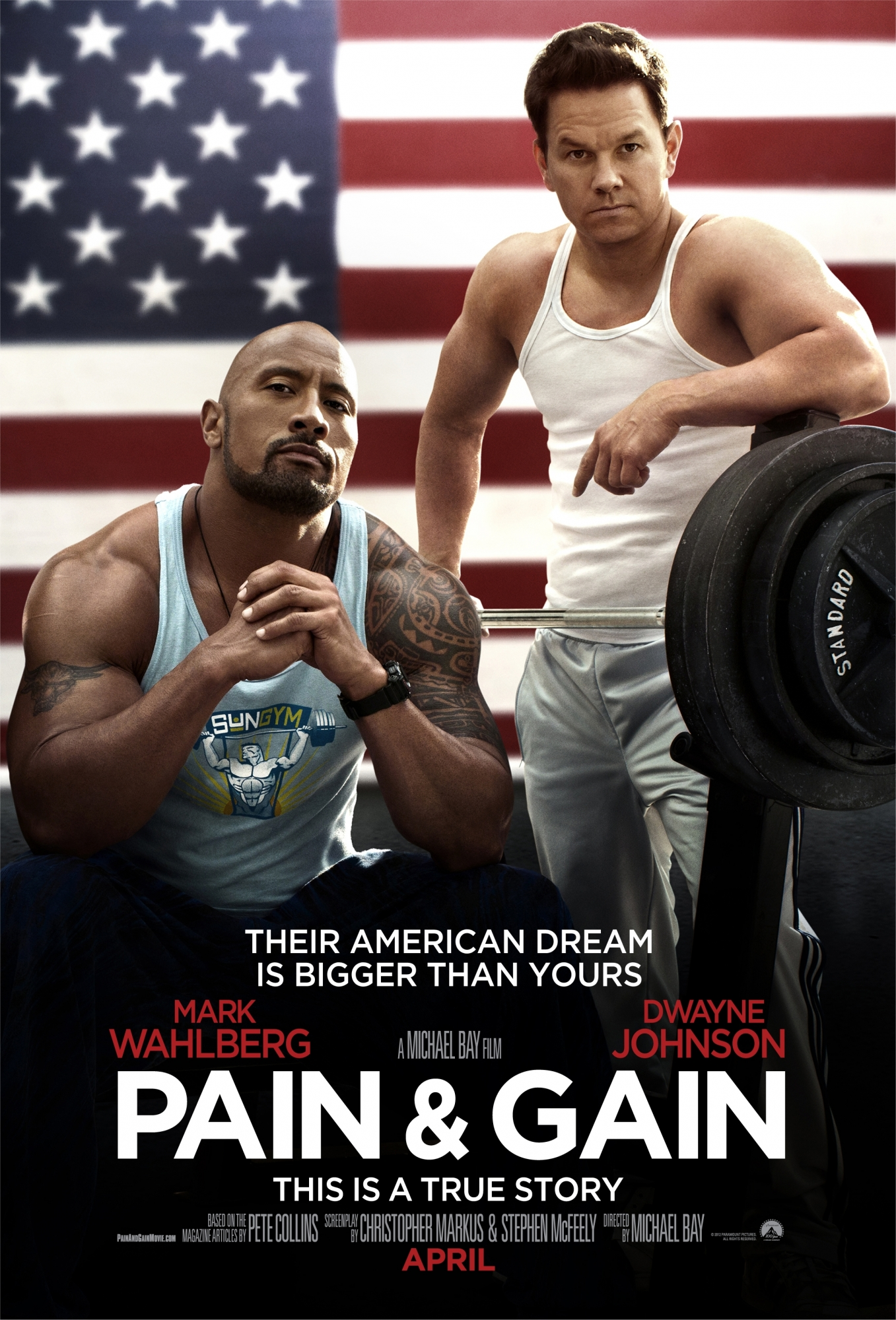 PAIN AND GAIN (R)