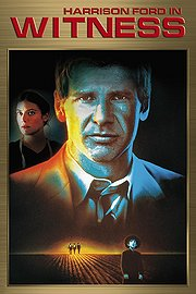 Witness poster Harrison Ford John Book