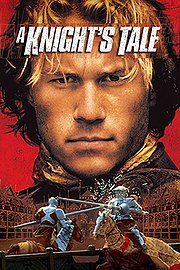 A Knight's Tale poster Heath Ledger William Thatcher