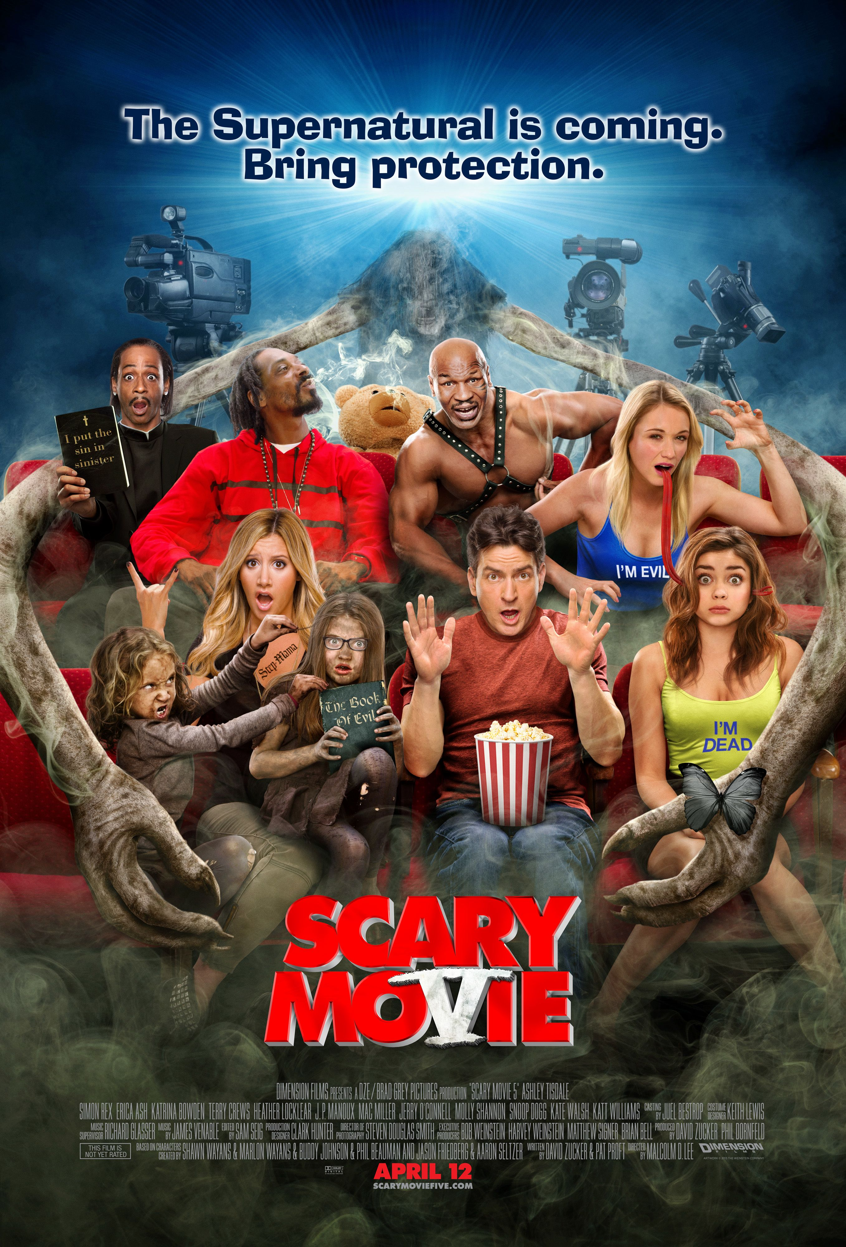 SCARY MOVIE 5 (PG-13)