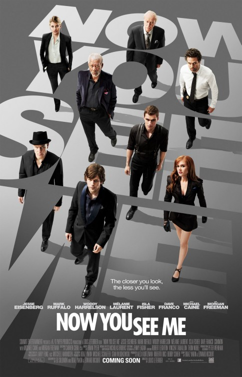 NOW YOU SEE ME (PG-13)