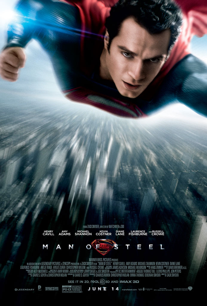 MAN OF STEEL 3D (IN DIGITAL) (PG-13)