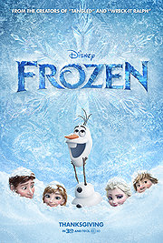 Frozen movie 2013 poster