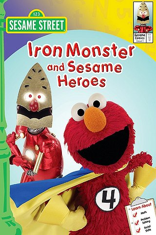 Sesame Street: Iron Monster and Sesame Heroes