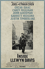 Inside Llewyn Davis movie 2013 poster