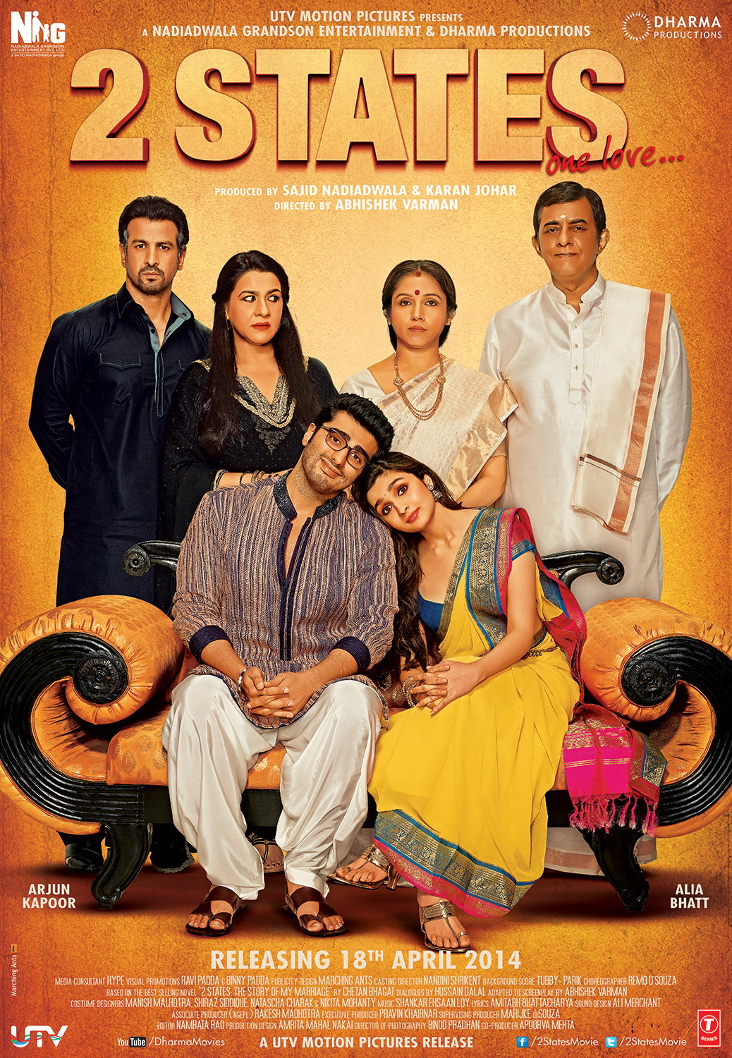 2 STATES (HINDI) (IN DIGITAL) (Unrated)