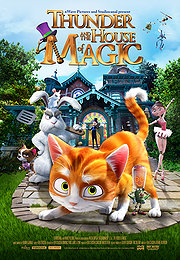 Thunder and the House of Magic (2014) NEW in Theaters (HD)