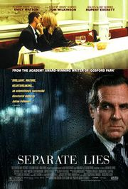 Separate Lies Poster