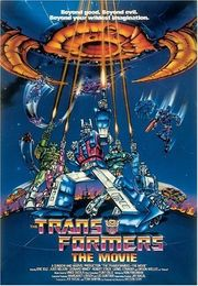 The Transformers: The Movie Poster