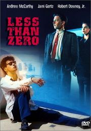Less Than Zero Poster