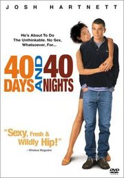 40 Days and 40 Nights poster Josh Hartnett Matt Sullivan