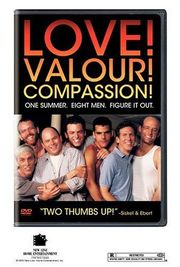 Love! Valour! Compassion! poster Jason Alexander Buzz Hauser