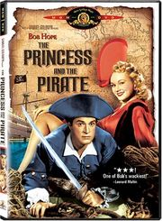 The Princess and the Pirate poster Bob Hope Sylvester Crosby/