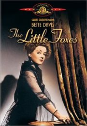 The Little Foxes poster Bette Davis Regina Hubbard Giddens