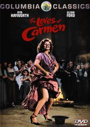 The Loves of Carmen poster Rita Hayworth Carmen Garcia