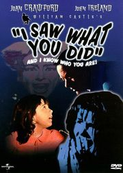 I Saw What You Did Poster