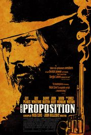 The Proposition poster Guy Pearce Charlie Burns
