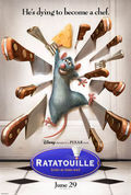 Ratatouille poster &amp; wallpaper