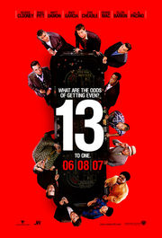 Ocean&#039;s Thirteen Poster