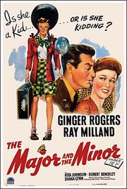 The Major and the Minor Poster
