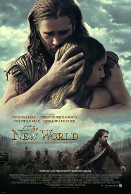 Poster del film The new world - Il nuovo mondo