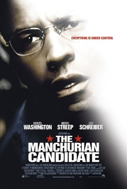 Poster del film The Manchurian Candidate