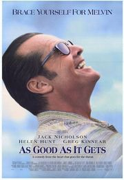 As Good as It Gets Poster