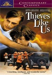 Thieves Like Us poster Keith Carradine Bowie