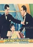 Thirty Day Princess poster Sylvia Sidney Nancy Lane/Princess Catterina Theodora Margerita Zizz