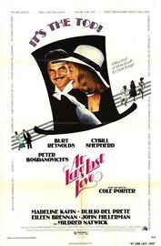 At Long Last Love poster Burt Reynolds Michael Oliver Pritchard III
