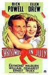 Poster Christmas in July Movie