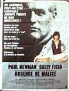 Absence of Malice Poster