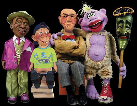 jeff dunham peanut pictures. PEANUT AND GANG : Jeff Dunham