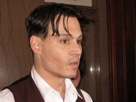Local court reporter takes it all down for Johnny Depp