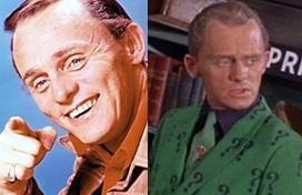 Frank Gorshin (as The Riddler) in 'Batman'
