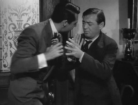 Scene from Arsenic and Old Lace