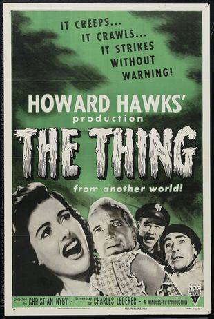 'The Thing from Another World' - Poster