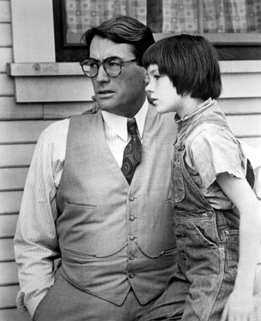 To Kill A Mockingbird - Atticus and Scout