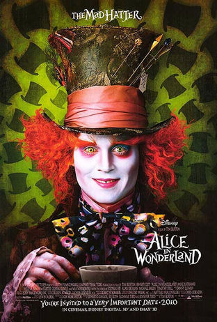 Alice in Wonderland Poster! Related: Johnny Depp , Alice in Wonderland