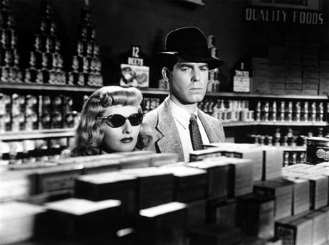 Barbara Stanwyck and Fred MacMurray