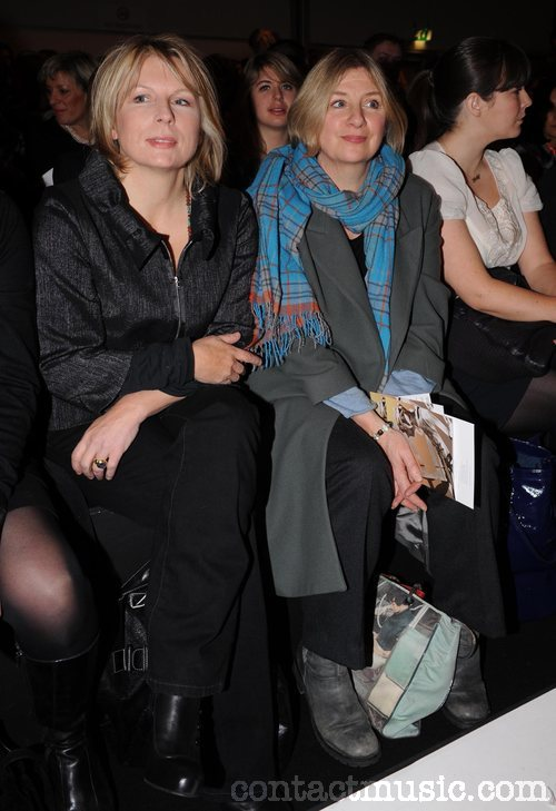 Jennifer Saunders and Victoria Wood