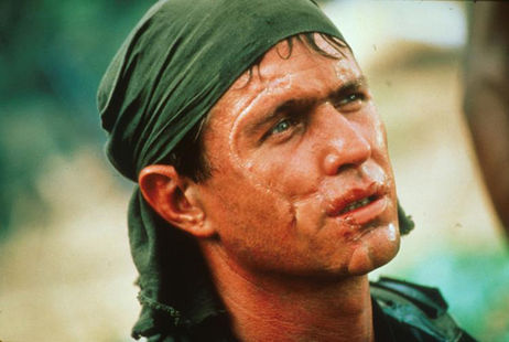 Tom Berenger as Sgt Bob Barnes in Platoon