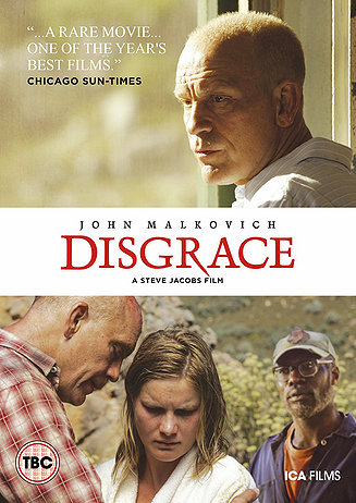 dvd review disgrace netribution any film adaptation of nobel prize winning author j m coetzee s 1993 booker prize winning novel would have a daunting reputation to live up to
