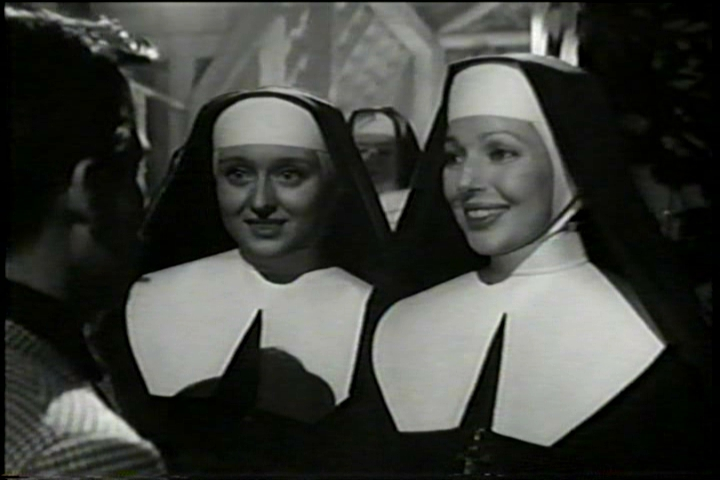 Celeste Holm & Loretta Young in Come to the Stable