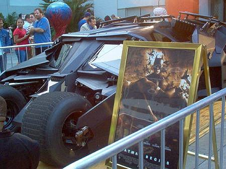 Went to Hollywood, THE REAL BATMOBILE!!!