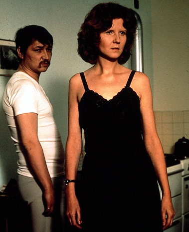 Fassbinder and Irm Hermann