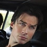 Damon in Car