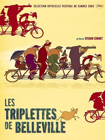 Triplets of Belleville movie poster