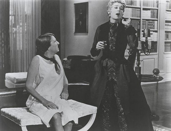 Peggy Cass & Rosalind Russell in Auntie Mame