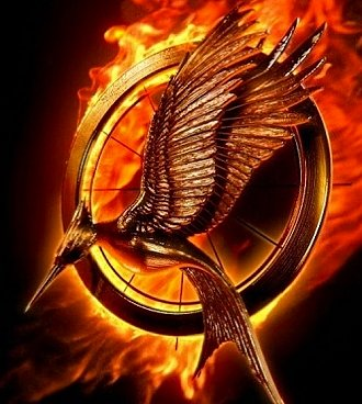 The logo to my most anticipated film of 2013, The Hunger Games: Catching Fire